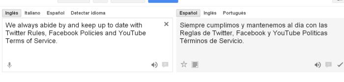 Traducido con Google